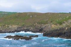 海洋海岸 免版税库存照片