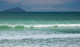 海洋海浪 免版税库存照片