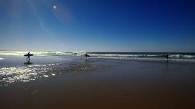 海滩海浪 库存图片