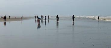海洋海滩场面 库存图片