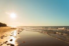 海洋海滩 库存照片