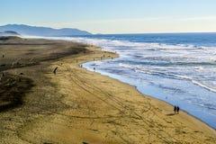 海洋海滩 免版税图库摄影