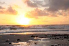 海洋海滩 免版税库存图片