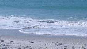 海滩漩涡 免版税库存照片