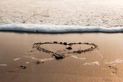 海洋爱 免版税库存图片