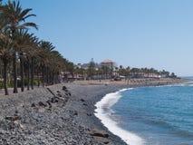 海滩特内里费岛,西班牙 图库摄影