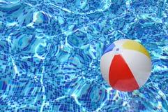 海滩球 库存图片