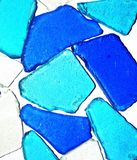 海玻璃背景 库存图片