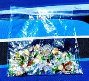 海玻璃 免版税库存图片