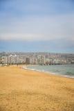 海滩瓦尔帕莱索 免版税库存照片