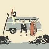 海滩生活方式 免版税库存照片