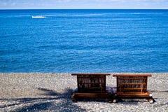 海滩生活s 库存图片