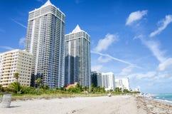 海洋费用北部迈阿密海滩 免版税图库摄影