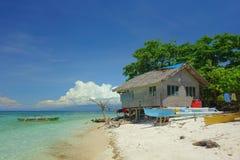 海滩的之家 免版税库存图片