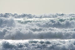 海洋的力量 免版税库存照片