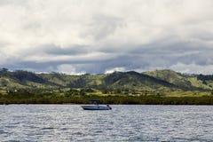 从海洋的斐济 图库摄影