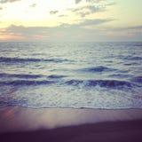 海洋的波浪 图库摄影