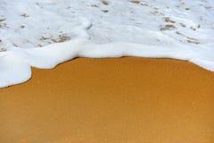 海洋的波浪 免版税库存照片