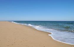海洋的边缘 库存照片