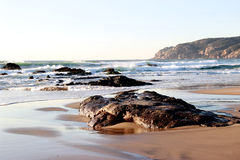 海滩绞盘 库存图片