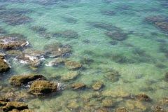 海洋看法conil的 免版税库存照片