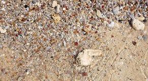 海滩石头在泰国 免版税图库摄影