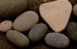 海洋石头软 免版税库存照片