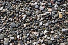 海滩石头 库存照片