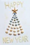 海洋祝贺新年 免版税图库摄影