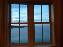 海洋窗口 库存照片