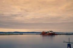 海洋终端爱丁堡 免版税库存照片