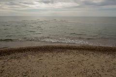 海滩美丽的海运 库存图片