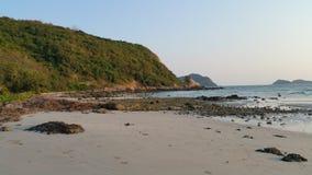 海滩美好的海岛ko发埃泰国 库存照片