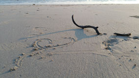 海滩美好的海岛ko发埃泰国 库存图片