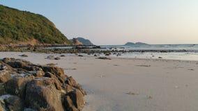 海滩美好的海岛ko发埃泰国 免版税库存照片