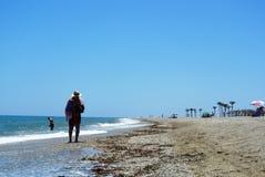 海滨胜地罗克塔斯德马尔在安大路西亚,西班牙 库存图片