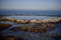 海以色列Ahziv 免版税库存图片