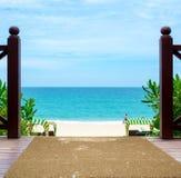 海滩萨尼亚 免版税库存图片