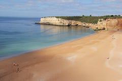 海滩葡萄牙 免版税库存照片