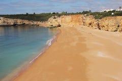 海滩葡萄牙 图库摄影