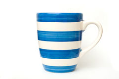 海洋蓝色杯子 库存照片
