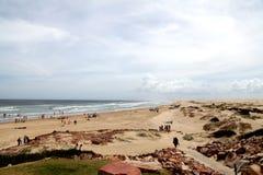 海滩视图@安娜海湾澳大利亚 库存图片
