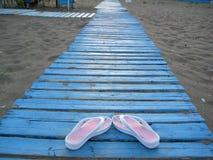 海滩触发器 库存照片