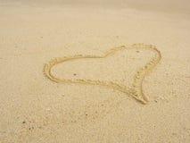 海滩设计浪漫要素的重点 免版税库存照片