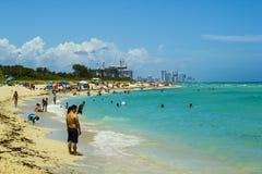 海滩迈阿密 库存照片
