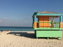 海滩迈阿密 免版税库存照片