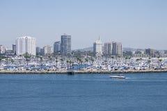 海滩都市风景 库存图片