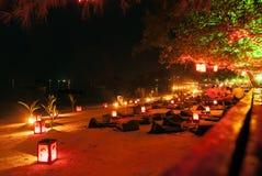 海滩酒吧在酸值陶海岛泰国 图库摄影