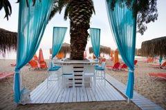 海滩酒吧 图库摄影