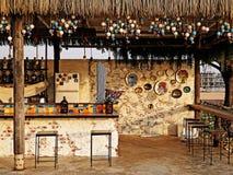 海滩酒吧 库存照片